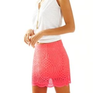 Lilly Pulitzer Alice Lace Skort